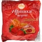 Пряник Кулиничи клубника 350г