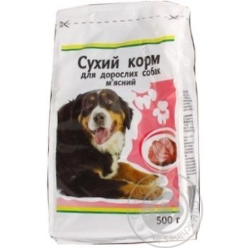 Kozhen Den With Meat Dry For Dogs Food 500g - buy, prices for Auchan - image 5