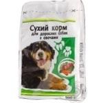 Сухой корм Каждый день для взрослых собак с овощами 500г