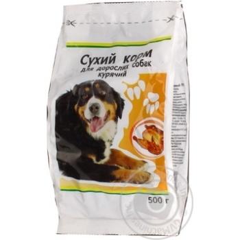 Сухий корм Кожен день для дорослих собак курячий 500г