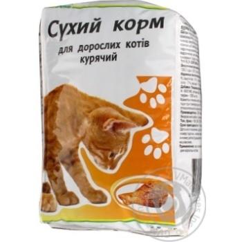 Сухой корм Каждый день для взрослых котов куриный 2.5кг - купить, цены на Ашан - фото 2