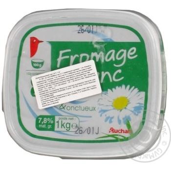 Сыр сливочный Ашан 7.8% 1000г - купить, цены на Ашан - фото 2