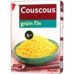 Кускус Auchan дрібне зерно 500г