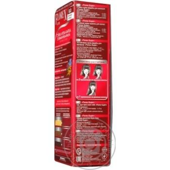 Крем-краска Florex для волос цвет красный коралл - купить, цены на Ашан - фото 4