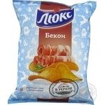 Potato chips Lux with bacon taste 133g