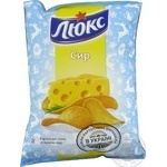Potato chips Lux with cheese taste 133g