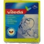 Салфетки Vileda влаговпитывающие 3шт