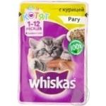 Консерва для кошенят курка  WHISKAS, 85г
