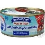 Заправка для пасты Аквамарин с морепродуктами в томатном соусе 185г
