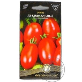 Насіння Томат Де-Барао червоний Golden Garden 0,1г