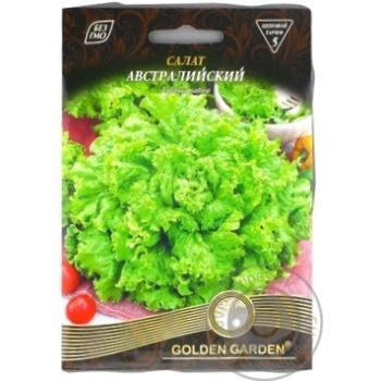 Насіння Golden Garden Гігант Салат Австралійський 10г