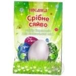 Набір барвників Золоте і срібне сяйво для великодніх яєць Квітень