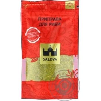Приправа для риби Saldva 35г - купити, ціни на Novus - фото 1