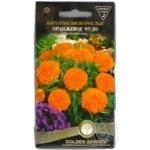 Насіння Квіти Чорнобривці Оранжеве диво Golden Garden 0,5г