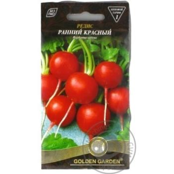 Насіння Редька Рання червона Golden Garden 3г - купить, цены на Novus - фото 1