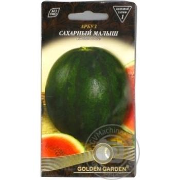 Насіння Кавун Цукровий малюк Golden Garden 1г - купити, ціни на Novus - фото 4