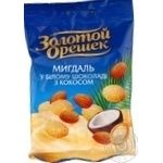 Golden Nut Chocolate Almonds with Coconut Dragee 100g