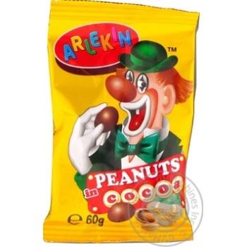 Dragee peanuts Zolotyy horikh Zolotyy gorishok 60g - buy, prices for MegaMarket - image 1