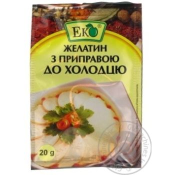 Eco Food Gelatin With Seasoning For Meat In Jelly