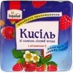 Кисіль зі смаком лісової ягоди Караван брикет 170г