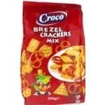 Смесь крекеров и брецелей Croco 250г