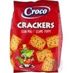Cracker Croco Private import with sesame 100g