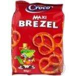 Брецели Croco макси соленые 80г