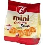 7Days Double Cocoa & Vanilla Mini Croissant
