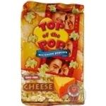 Snack Top of pop with taste of cheese for a microwave stove 100g