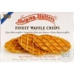 Печенье Belgian Butters Finest Waffle crisps сливочное вафельное 200г картонная упаковка Бельгия