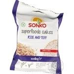 Хлібці рисові з зернами теффа Sonko 30г