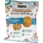 Мини-хлебцы Эки-Неки мультизерновые с морской солью 40г