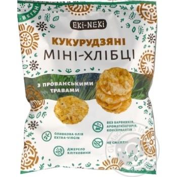 Eki-Neki Corn With Provence Herbs Mini Crispbreads 40g - buy, prices for Novus - image 5