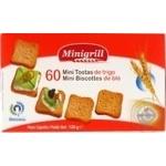 Тости пшеничні Minigrill 120г - купити, ціни на МегаМаркет - фото 2