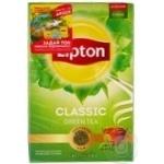Чай зеленый Lipton Classic 80г