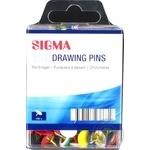 Кнопки кольорові Sigma 150шт