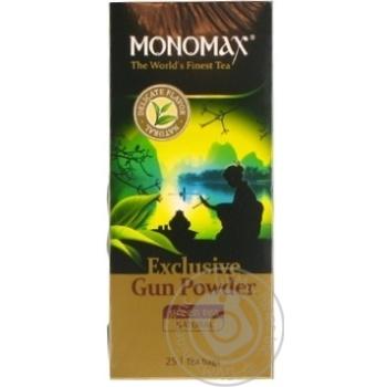 Чай зелений Мономах Exclusive 25*2г - купити, ціни на Novus - фото 1