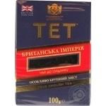 Black ceylon pekoe tea TET British Empire strong big leaf 100g England