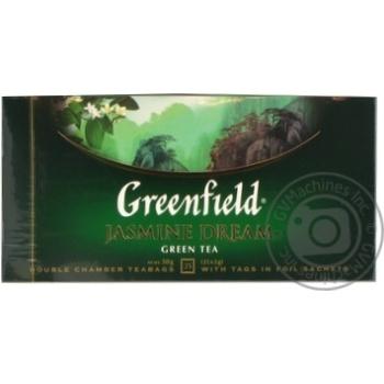 Чай Greenfield зеленый Jasmin Dream 25шт*2г