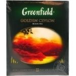 Чай черный Greenfield Golden Ceylon 200г