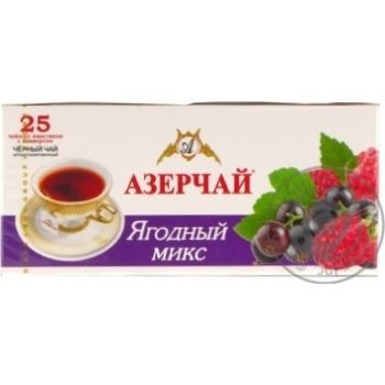 Tea Azerchay with berries black packed 45g