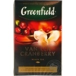 Tea Greenfield with vanilla black 100g