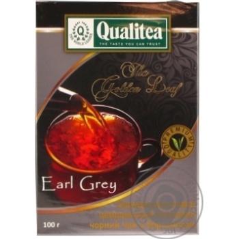 Чорний чай Кволіті Ерл Грей цейлонський з бергамотом 100г
