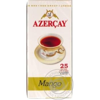 Чай чорний з ароматом манго Азерчай конв.1,8г*25пак.