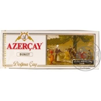 Black pekoe tea Azercay Buket 25x2g teabags
