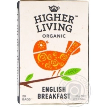 Tea English breakfast black 45g - buy, prices for Novus - image 1
