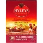Tea Hyleys English favorite black loose 100g cardboard packaging