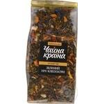 Чай зелений ароматизований з додаванням рослинної сировини зелений Ніч клеопатри Чайна країна 100 г пакет прозорий - купить, цены на Novus - фото 1