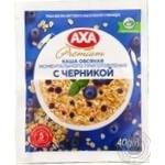 Oatmeal with Axa with blueberries quick-cooking 40g