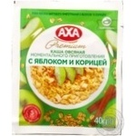 Oatmeal with Axa with apple and cinnamon quick-cooking 40g